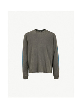 Season 6 Calabasas Print Cotton Jersey Sweatshirt by Yeezy