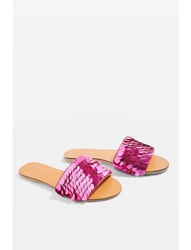 Sequin Mules by Topshop