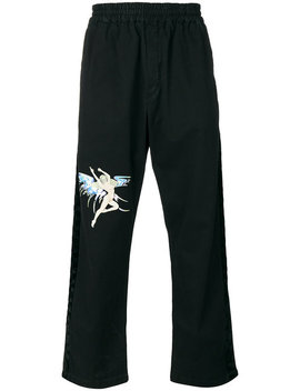 Fairy Print Track Pantshome Men Clothing Track Pants by Off White