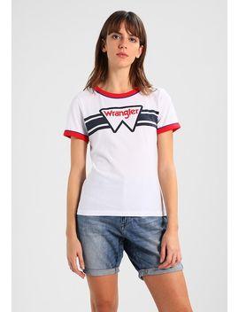 Ringer Tee   T Shirt Print by Wrangler