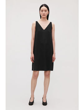 Sleeveless Silk Dress by Cos