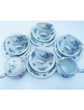 Karolina/Vintage Tea Set/Polish Porcelain/ Tea Cups/Vintageporcelain/Porcelain Set by Etsy