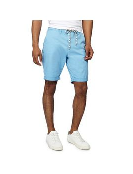 Jacamo   Light Blue Slim Fit Chino Shorts by Jacamo