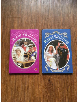 Royal Wedding Vintage Ladybird Souvenir Books   1980s   1981 & 1986   Book Lovers Gift Idea   Royalist Monarchy Queen Prince Princess Diana by Etsy