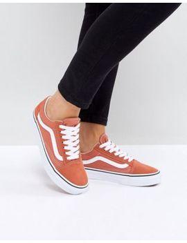 Vans – Old Skool – Unisex Sneaker In Orange by Vans