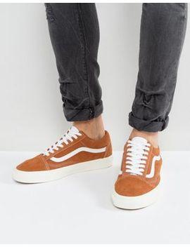 Vans – Old Skool – Hellbraune Wildleder Sneaker, Va38 G1 Oi4 by Vans