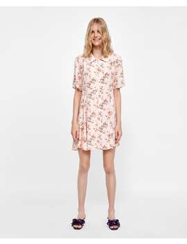 Kleid Mit Blumenmuster  Neudamen by Zara