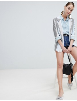 New Look Stripe Blazer by New Look