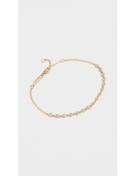 14k Gold Diamond Tennis Bracelet by Zoe Chicco