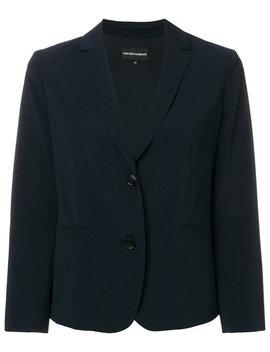 Cropped Tailored Blazerhome Women Clothing Blazers by Emporio Armani