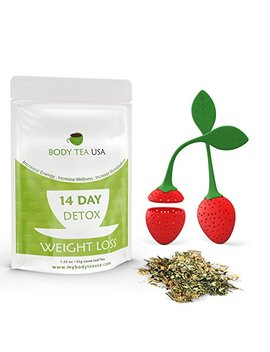 Flat Belly Tea Teatox Skinny Detox For A Flat Tummy And No Bloating By Body Tea Usa by Body Tea Usa