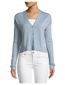 Hanelee Button Front Cashmere Cardigan by Theory