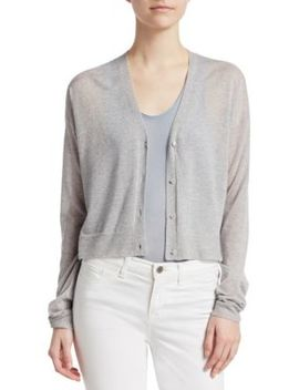 Hanelee Cashmere Cardigan by Theory
