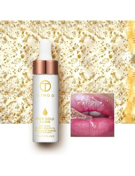 O.Two.O 24k Rose Gold Elixir Skin Make Up Oil For Face Essential Oil Before Primer Foundation Moisturizing Face Oil Anti Aging  by O.Two.O