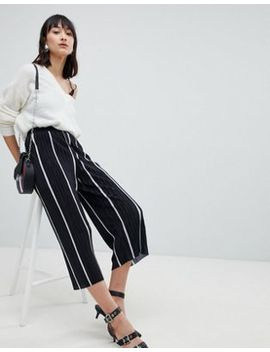 Pieces Hallie Striped Culottes by Pieces