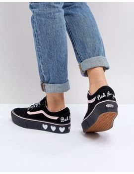 Zapatillas De Deporte Old Skool De Vans X Lazy Oaf by Asos