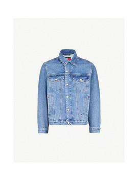 '90s Vintage Wash Denim Jacket by Tommy Jeans