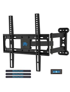 Mounting Dream Md2377 Tv Wall Mount Bracket For Most Of 26 55 Inch Led, Lcd, Oled Flat Screen Tv With Full Motion Swivel Articulating Arm Up To Vesa 400x400mm And 60 Lbs With Tilting by Mounting Dream