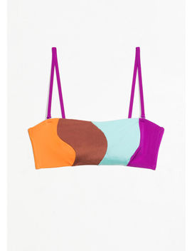 Colour Wave Halter Bikini by & Other Stories