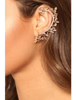 Ember Ear Cuff   Gold by Fashion Nova
