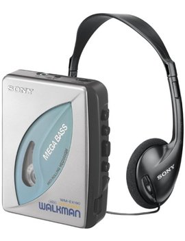 Sony Wm Ex190 Walkman Stereo Cassette Player With Anti Rolling Mechanism by Sony