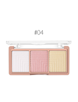 O.Two.O 4 Colors Palette Face Contour Powder Highlighter Blusher Bronzer Makeup Base Foundation Powder by O.Two.O