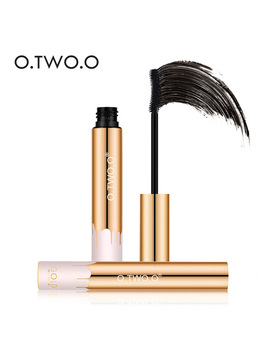 O.Two.O Professional Volume Curled Lashes Black Mascare Waterproof Curling Tick Eyelash Lengtheing 3 D Eye Makeup Mascara by O.Two.O