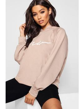 Wendy Oversized Woman Sweat Hoody by Boohoo