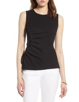 Ruched Tank Top by Halogen®
