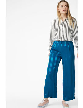 Dressy Jaquard Trousers by Monki