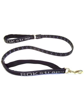 Rok Straps Large Leash, Reflective Black by Amazon