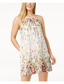 Juniors' Printed Shift Dress by Speechless