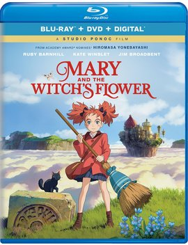 Mary And The Witch's Flower by Amazon