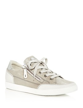 Women's Luca Sport Nubuck Leather Lace Up Sneakers by Paul Green