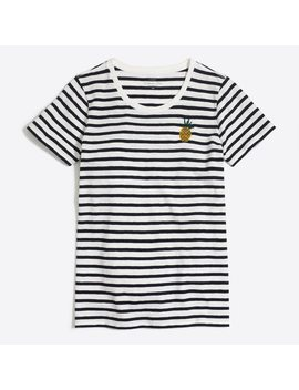 Pineapple Stripe Collector T Shirt by J.Crew
