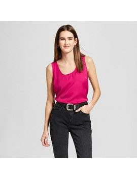 Women's Longline Tank   Mossimo™ by Mossimo