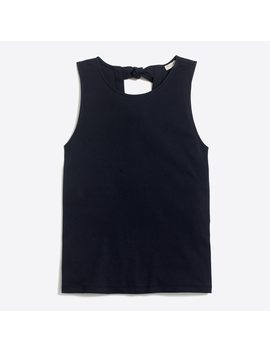 Tie Back Tank Top by J.Crew