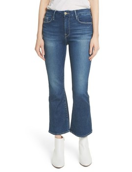 Le Crop Mini Boot Jeans by Frame