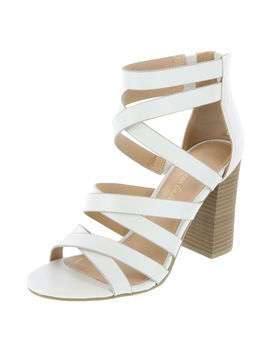 Women's Kinsley Block Heel Sandal by Learn About The Brand American Eagle
