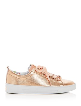 Women's Kellei Leather Lace Up Sneakers by Ted Baker
