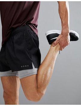 Pantalones Cortos 2 En 1 De Asos 4505 by Asos
