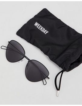 Weekday   Lunettes De Soleil Yeux De Chat by Weekday