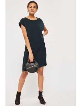 Pleated Hem Dress By Native Youth by Topshop