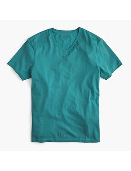 Tall J.Crew Mercantile Broken In V Neck T Shirt by J.Crew