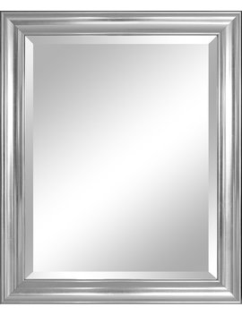 Alpine Mirror & Art 30413 Wall Mirror, Silver by Alpine Mirror & Art