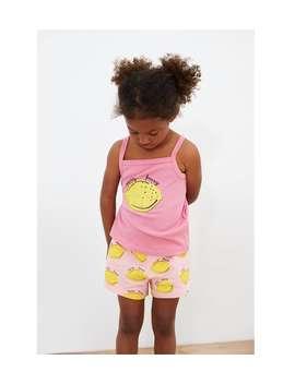 Lemon Bermuda Shorts  New Inbaby Girl by Zara