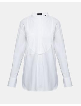 Stretch Cotton Bib Shirt by Theory
