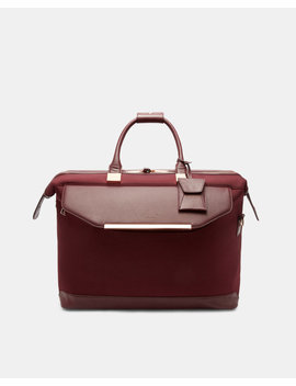 Metallic Trim Small Holdall by Ted Baker