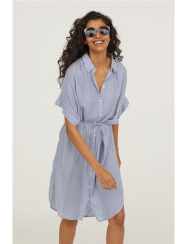 Vestido Camiseiro Em Modal by H&M