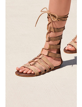 Washed Ashore Tall Gladiator Sandal by Free People